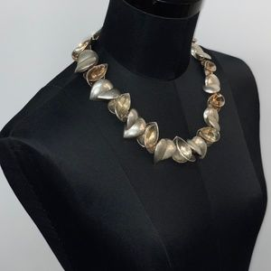 Tiffany & Co. Jewelry - Tiffany & Co Frank Gehry Silver and Gold Necklace